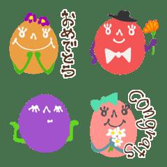 อิโมจิไลน์ Colorful Chocolate Balls
