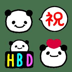 อิโมจิไลน์ Celebration Giant-Panda Emoji