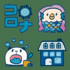 อิโมจิไลน์ Corona Virus Emoji !