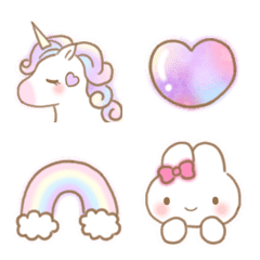 Dreamy and cute girly Emoji