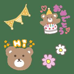 อิโมจิไลน์ Bear*emoji