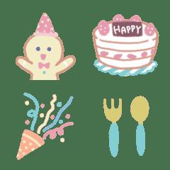 อิโมจิไลน์ Yurina* Shy COOKY Emoji