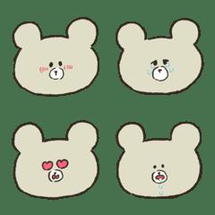 A bear's cub Emoji