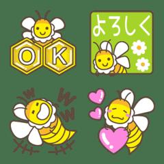 อิโมจิไลน์ Bee (and bear)