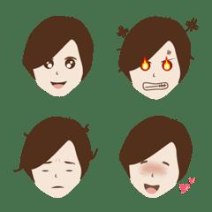 อิโมจิไลน์ kiki's face
