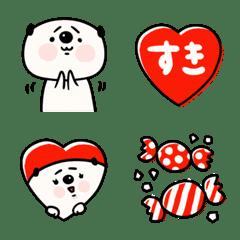 อิโมจิไลน์ Red red panda Emoji