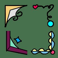 Design frame Emoji 2