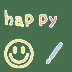 อิโมจิไลน์ akika emoji 22