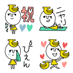 อิโมจิไลน์ Ms.Banana