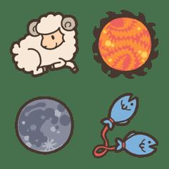 kabiemoji horoscope goods emoji