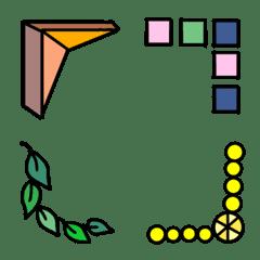 Design frame Emoji 3