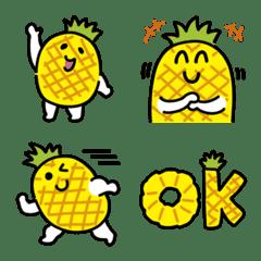 อิโมจิไลน์ Ripe pineapple Emoji