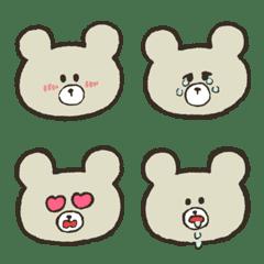 A bear's cub Emoji (improved version)