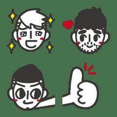 อิโมจิไลน์ JieJie & UncleCat Emoji