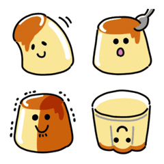 Swaying pudding Emoji