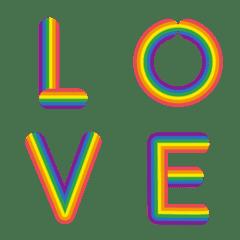 English alphabet letter rainbow (2)