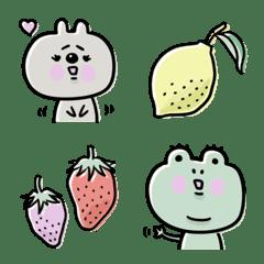 อิโมจิไลน์ Adult cute calm Emoji 2