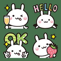อิโมจิไลน์ Yurukawa rabbit emoji 2