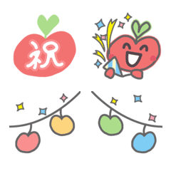 อิโมจิไลน์ MeRingo Emoji vol.02 (For Celebration)
