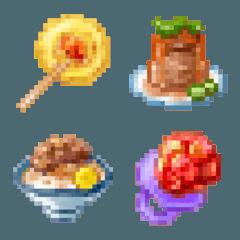 อิโมจิไลน์ Pixel style Taiwan Food Part.3