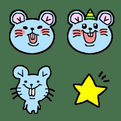 Mouse emoji.