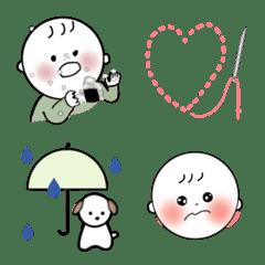 baby emoji mochihope-kun