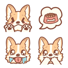 glutton corgi Emoji