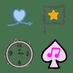 simple emoji 111
