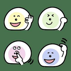 Fruits Daifuku (Emoji)