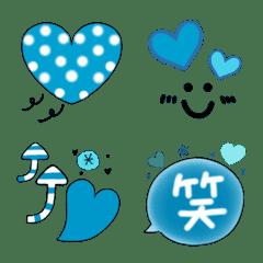 滿滿滿愛心♡*藍色