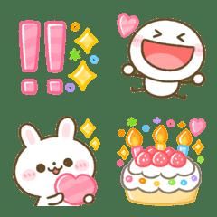 อิโมจิไลน์ piyotanuki character emoji