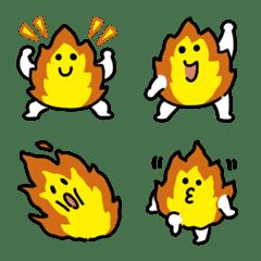 Burning flame Emoji