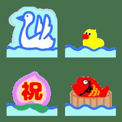 อิโมจิไลน์ Happy&congratulations emoji