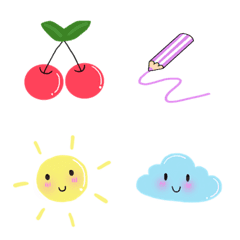 cutie simple emoji