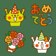 อิโมจิไลน์ CATS & PEACE Emoji 4