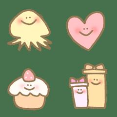 อิโมจิไลน์ special cute kawaii useful celebrate sea