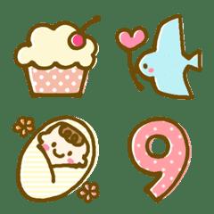 อิโมจิไลน์ cute and useful-celebration