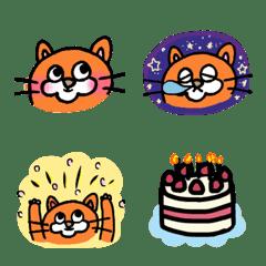 อิโมจิไลน์ toraneko emoji