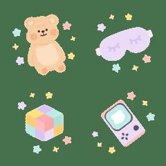 อิโมจิไลน์ Muffin Bear : Super Super Cute Emoji