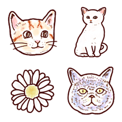 Cat's Party Emoji
