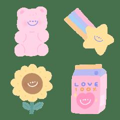 อิโมจิไลน์ the cutie emoji
