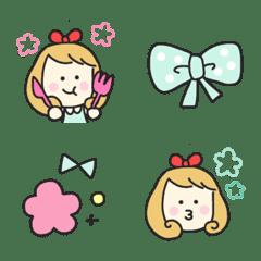 อิโมจิไลน์ mint girly girl