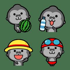 Summer emoji of the gorilla