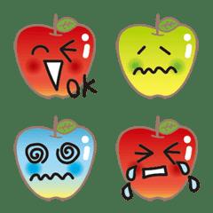 fruit monster apple