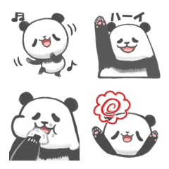 Panda emoji that say bad things