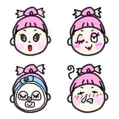 Candy girl Emoji