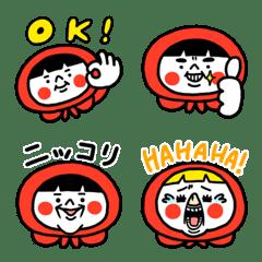 Akazukin & Kuma Emoji