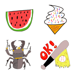 pop kawaii summer 3 emoji