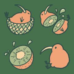 獼猴桃100%表情符號
