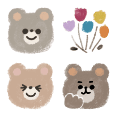 Lovely beige bears